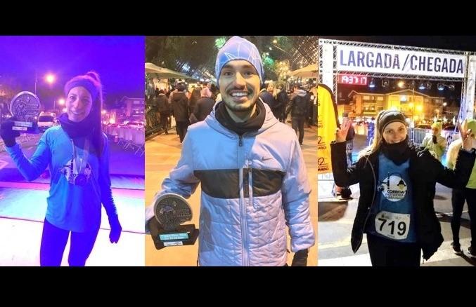 Florenses superam o frio e conquistam ótimos resultados na Corrida Noturna de Gramado