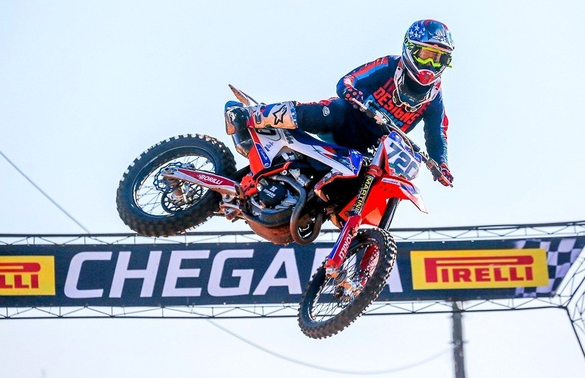 Rodrigo Galiotto conquista dois títulos na 4ª etapa do Campeonato de Motocross 2019