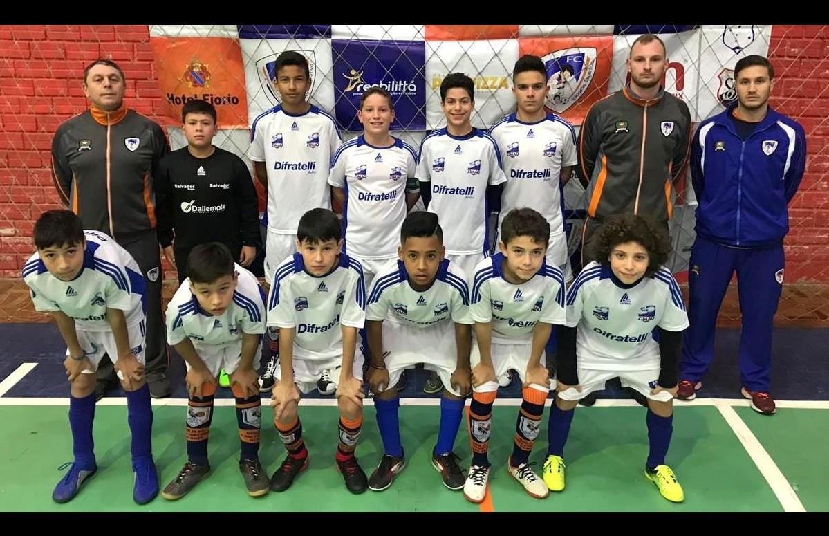 Galo F.C participa do 1º Torneio Prata da Copa Sesc Vale das Antas de Futsal