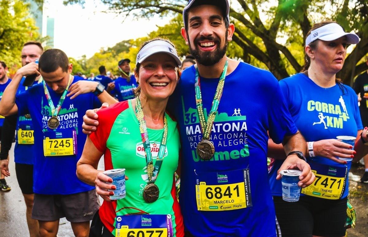 Florenses superam seus limites e completam a Maratona Internacional de Porto Alegre