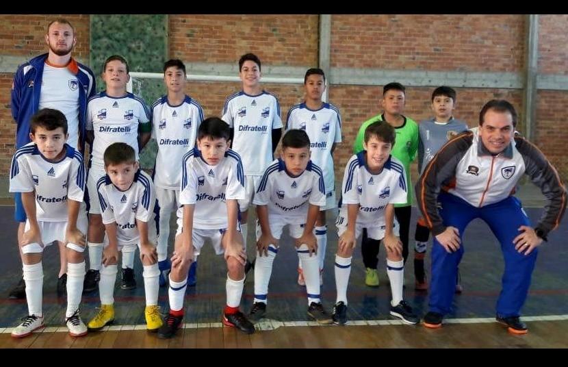 Galo F.C estreia na Copa SESC/Vales das Antas de Futsal
