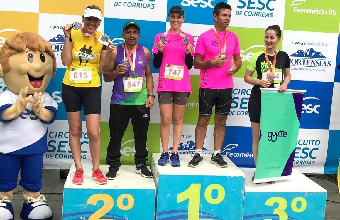 Atletas florenses participam do Circuito SESC de Corridas em Caxias do Sul