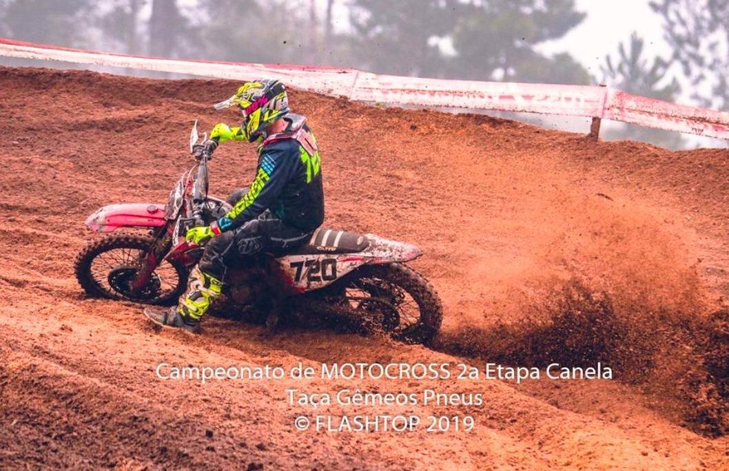 Rodrigo Galiotto volta às pistas com pódios na 2ª etapa do Regional de Motocross