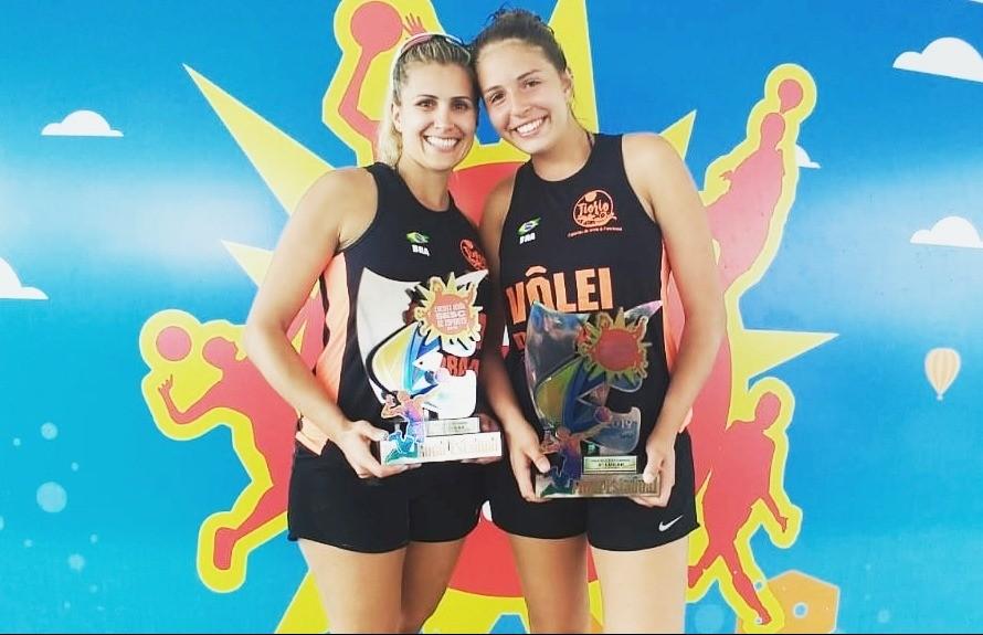 Dupla florense é vice-campeã do circuito verão Sesc de esportes