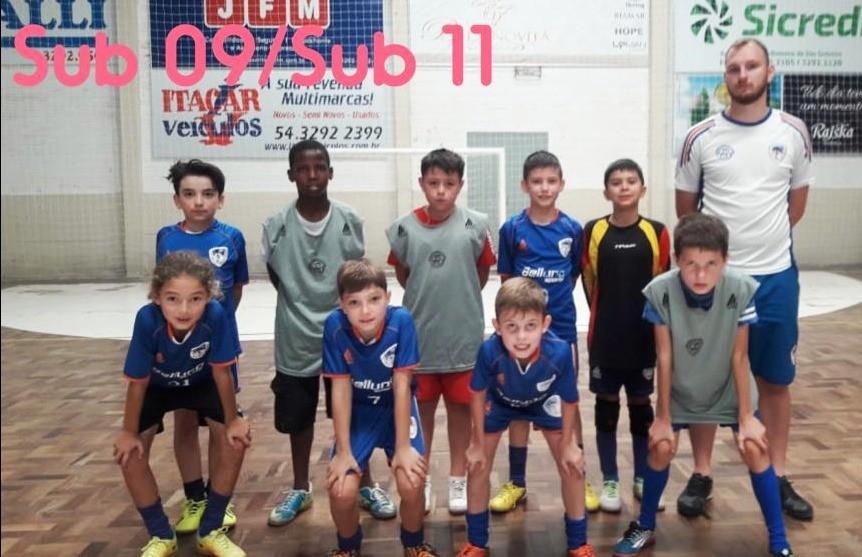Escola FC Iniciação Esportiva terá treinos em Nova Roma e São Gotardo