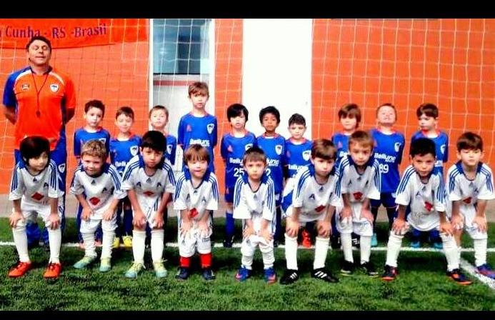 Categoria Mini Kids aos sábados é a novidade da Escola FC Iniciação Esportiva para 2019