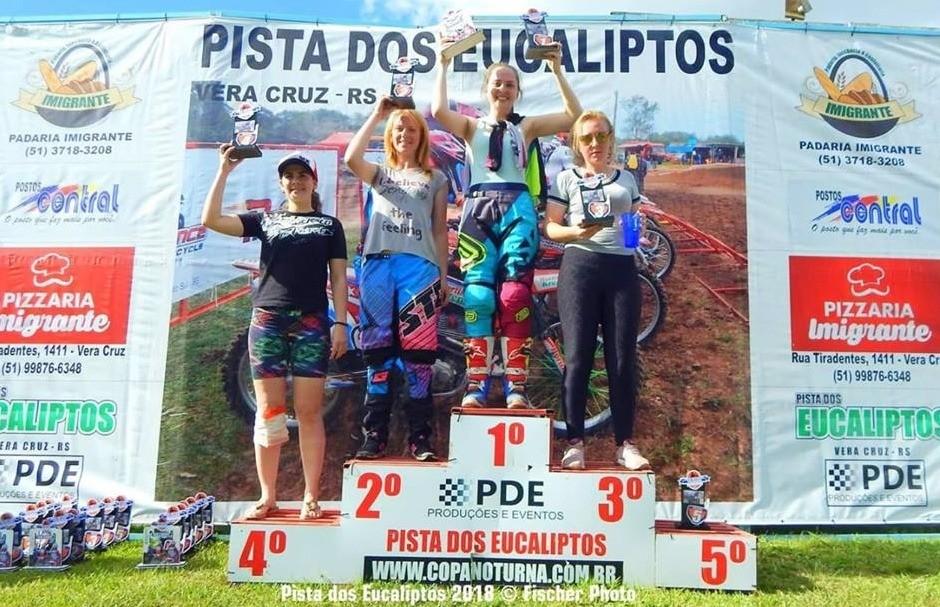 Daniela Vargas Lira conquista o título da Copa Noturna de Velocross