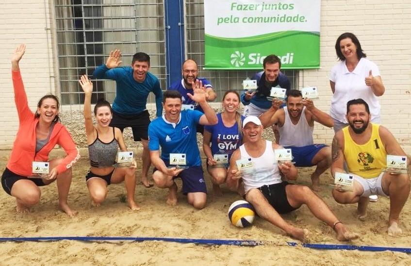 C.E.R Cruzeiro divulga os ganhadores do 1º torneio interno de vôlei de praia