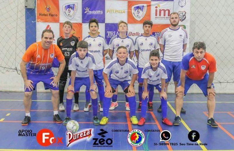 ATE/FC Iniciação Esportiva conquista o título da Copa Sortica de Futsal 2018