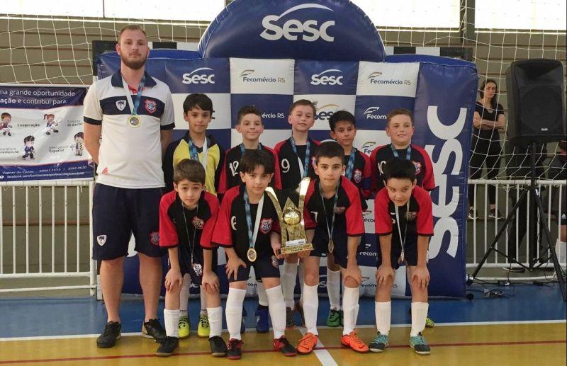 Colégio São José, de Caxias do Sul, conquista quatro títulos do SESC de Futsal Escolar