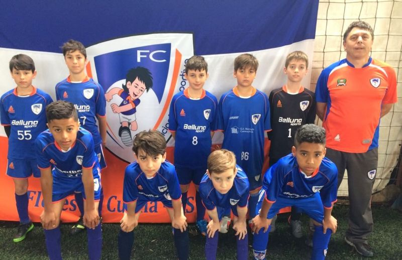 Categoria Sub 11 Ouro avança às quartas de final da Copa Sortica de Futebol 7