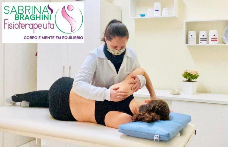 Trate as suas dores musculares com a Fisioterapeuta Sabrina Braghini