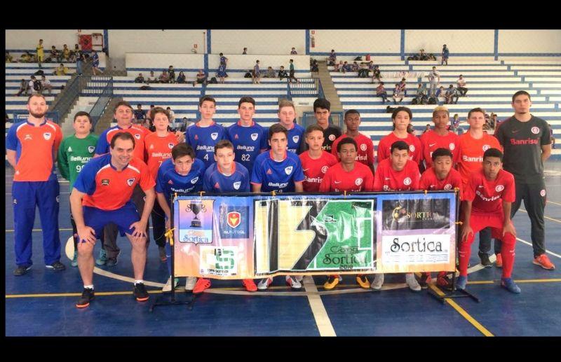 FC Iniciação Esportivo conquista vagas nas semifinais da Copa Sortica de Futsal