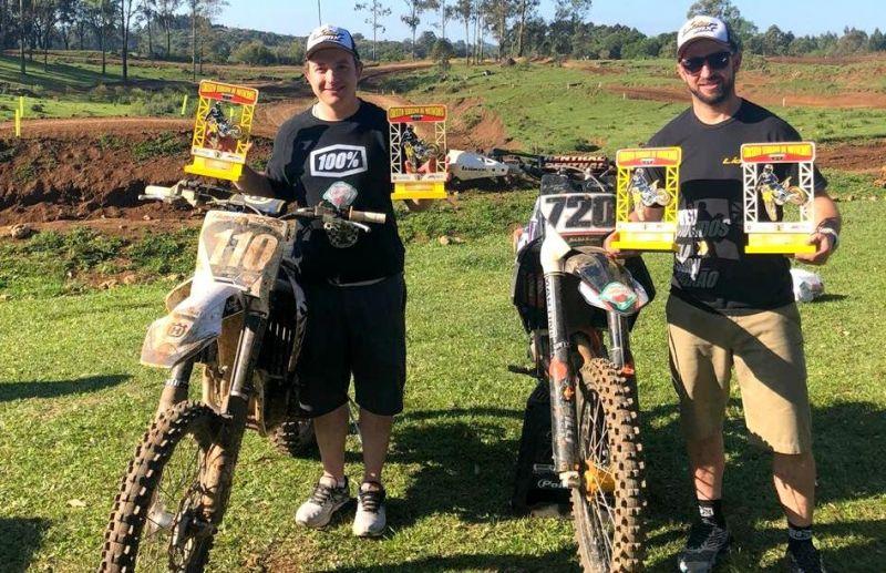Irmãos Galiotto fazem dobradinha na 5ª Etapa do Serrano de Motocross
