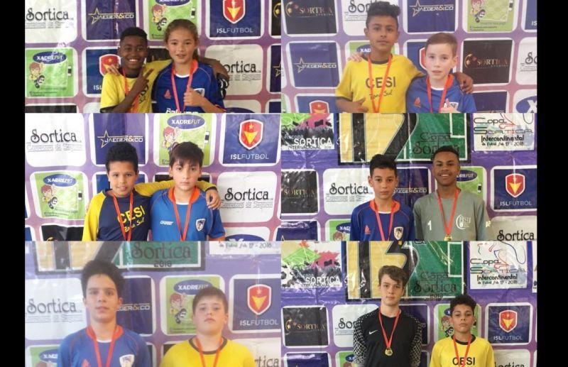 FC Iniciação Esportiva conhece os adversários das quartas de final da Copa Sortica de Futsal