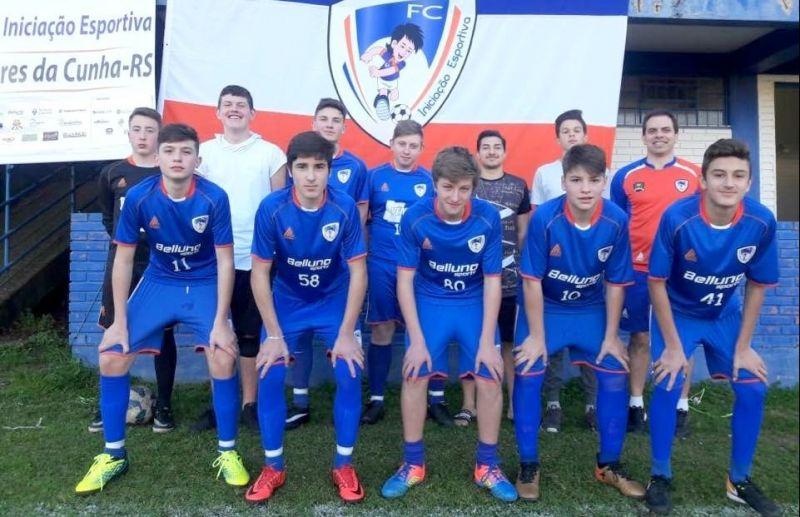 FC Iniciação Esportiva garante vaga na próxima fase da Copa Sortica de Futebol 7