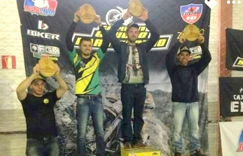 Piloto paduense é 3º colocado na Etapa do Campeonato Gaúcho de Hard Enduro