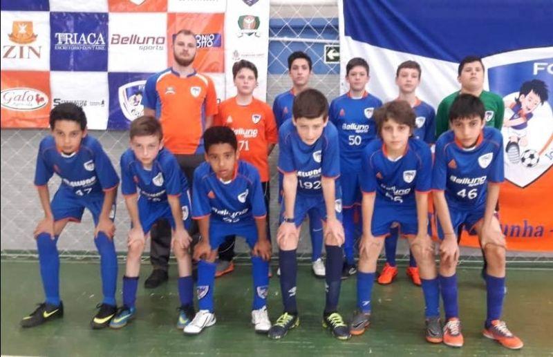 FC Iniciação Esportiva tem desempenho destacado na 4ª rodada da Copa Sortica de Futsal