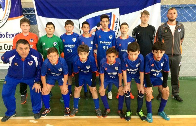 ATE/FC Iniciação Esportiva vence 4 jogos na 2ª rodada da Copa Sortica de Futsal
