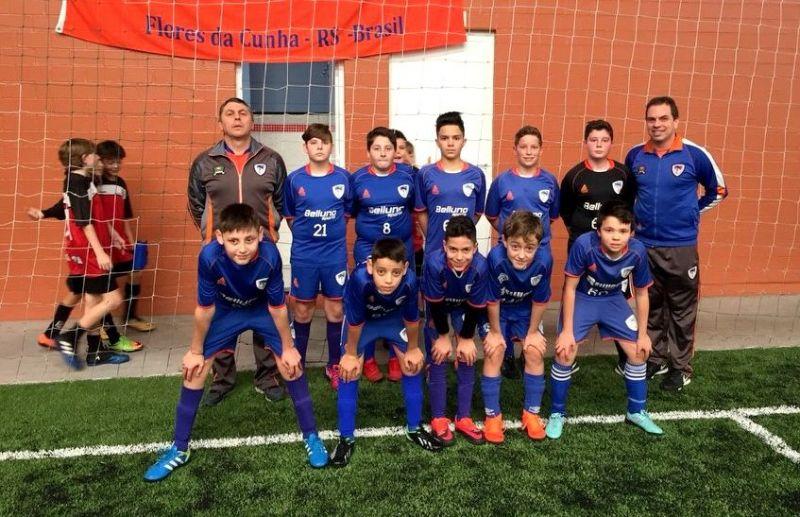 ATE/FC Iniciação Esportiva empata três jogos na 4ª rodada da Copa Sortica de Futebol 7