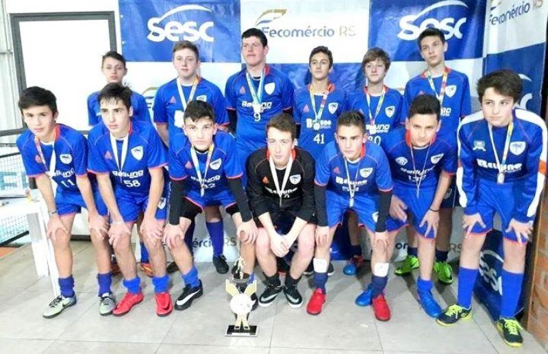 ATE/FC Iniciação Esportiva conquista o título do Sub 15 da 6ª Copa Reabilitta de Futebol 7