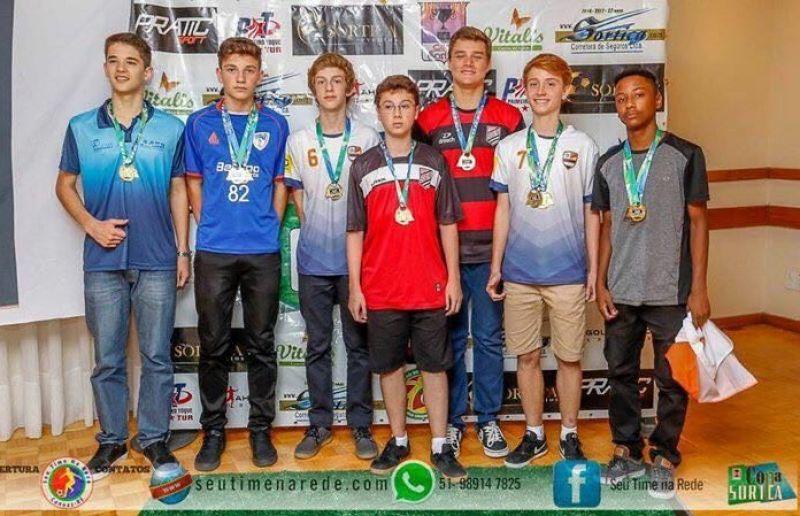Os melhores da Copa Sortica de Futebol 7 são premiados em evento na Sogipa