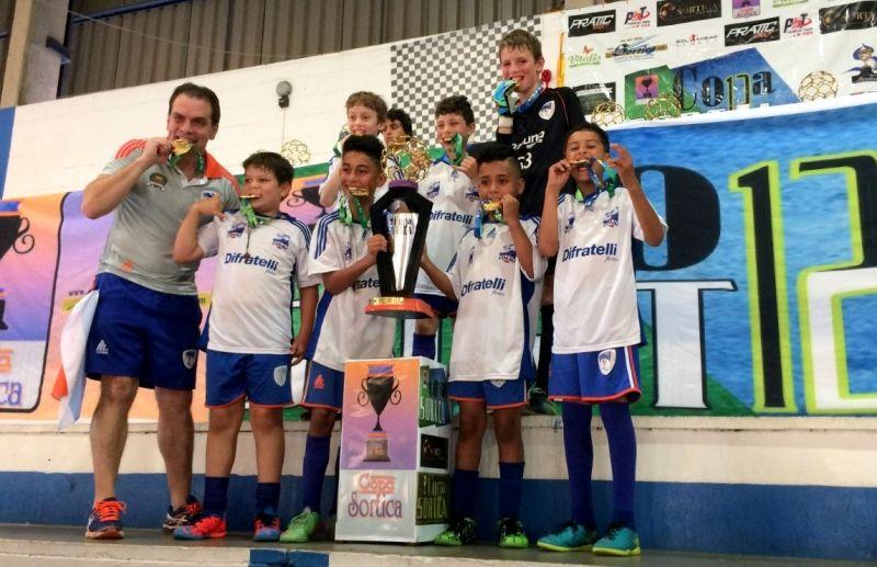 ATE/FC Iniciação Esportiva conquista 4 títulos na Copa Sortica de Futsal 2017