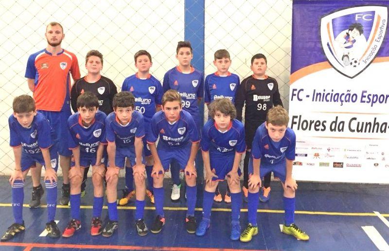 ATE/FC Iniciação Esportiva disputará 4 finais da Copa Sortica de Futsal 2017