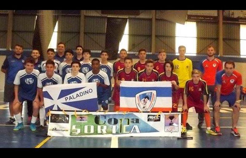 Escola ATE/FC conhece os adversários da semifinal da Copa Sortica de Futsal 2017