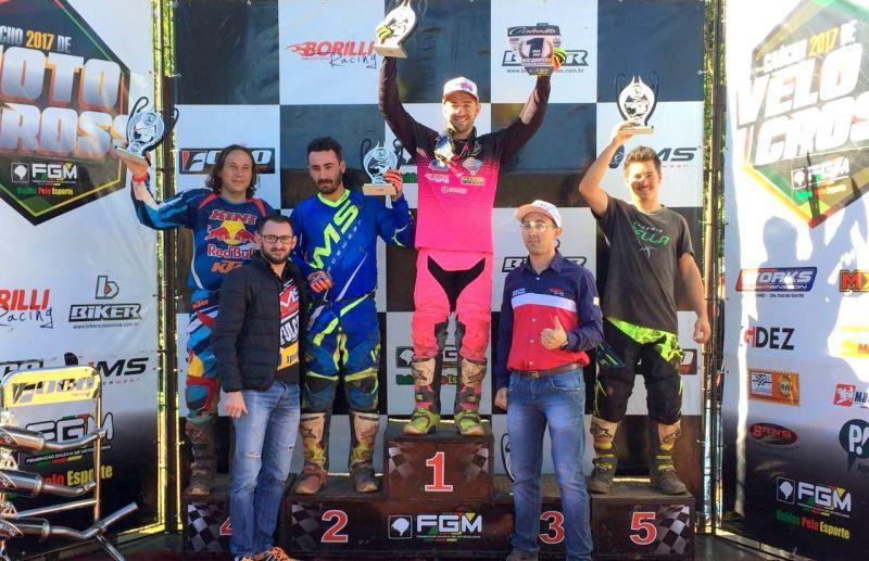Rodrigo Galiotto é Campeão Gaúcho de Motocross na categoria Intermediária 450cc