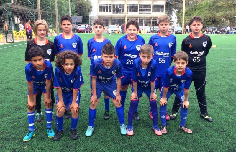 ATE/FC Iniciação Esportiva disputa jogos da Copa Sortica em Canoas e Porto Alegre