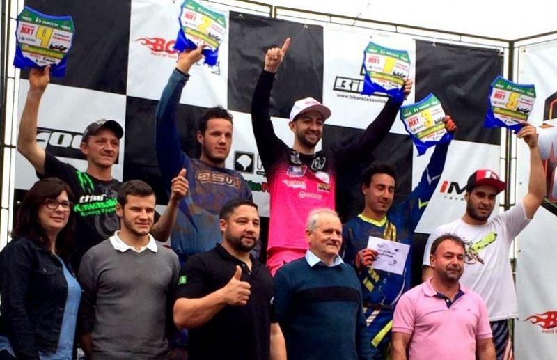 Piloto florense Rodrigo Galiotto vence etapa do Gaúcho de Motocross