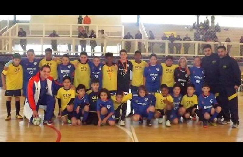 ATE/FC Iniciação Esportiva vence 7 jogos na 4ª rodada da Copa Sortica de Futsal