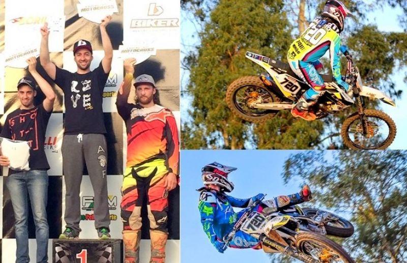 Rodrigo Galiotto conquista vitória no gaúcho de Motocross em Arvorezinha