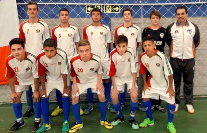 ATE/FC Iniciação Esportiva participa da Copa Sortica de Futsal 2017