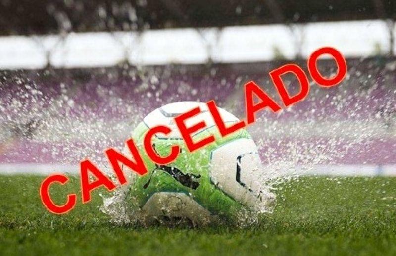Chuva impede a realização do jogo do FC Iniciação Esportiva