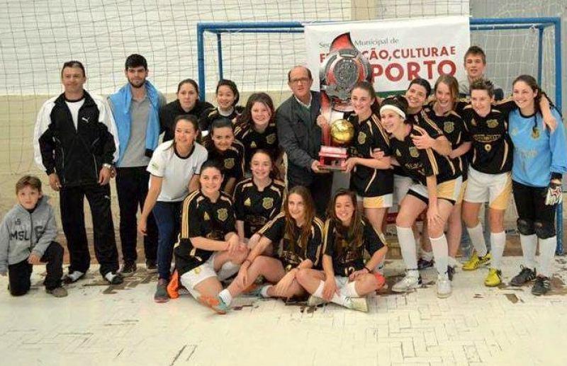ESPECIAL - União Feminina lidera os títulos no futsal feminino de Flores da Cunha