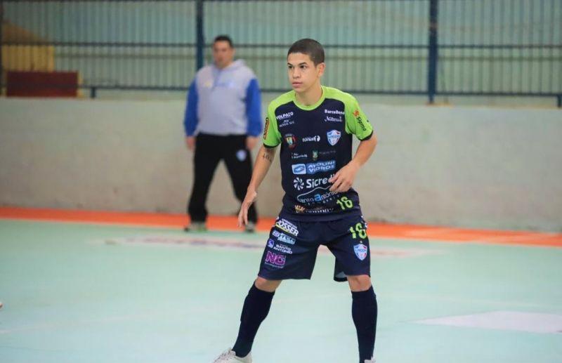 Florense Pedro Zaballa disputará a Liga Gaúcha de Futsal 2020