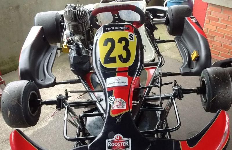 Piloto termina a 3ª etapa do Serrano de kart na segunda colocação