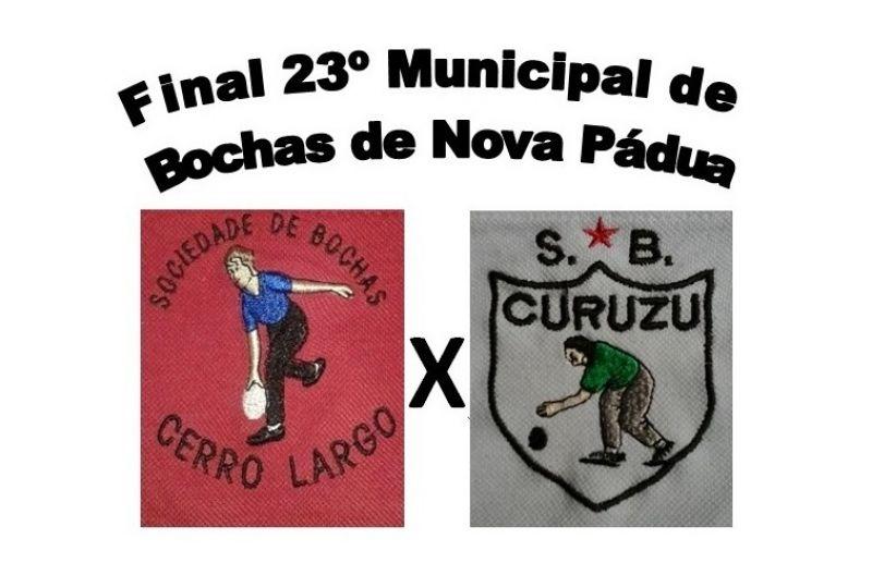 Final do municipal de bochas de Nova Pádua será disputada no Acioli