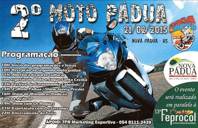 2º Moto Pádua promete muita ação