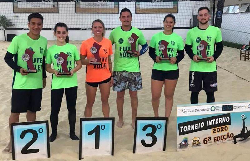 Torneio Interno de Futevôlei da Fiorio Esportes de Areia & Funcional