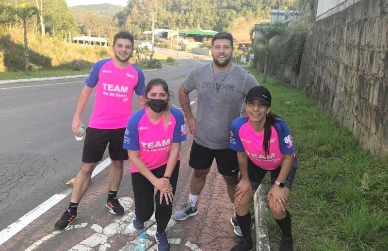 Desafio da Equipe Team Via de Vanti foi um grande sucesso