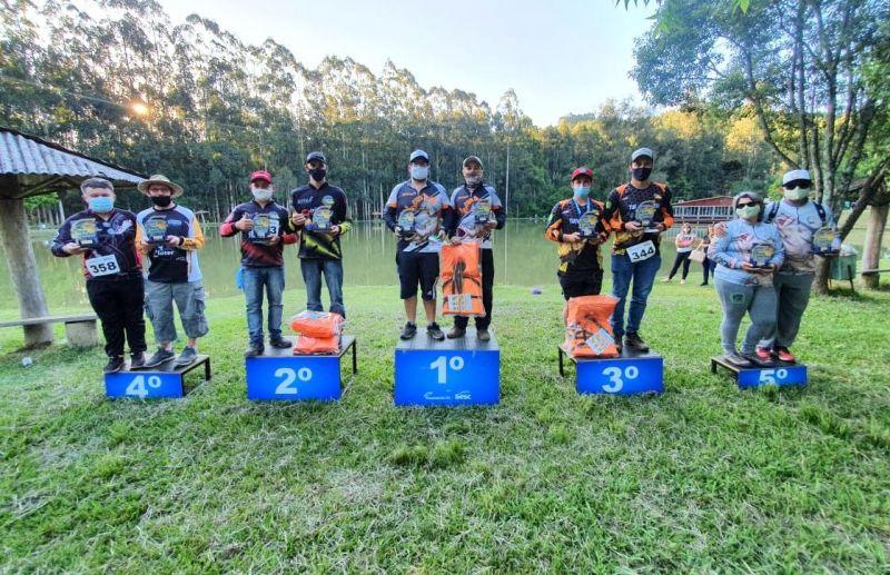 Foto Resultados da 2ª Etapa do Circuito Sesc de Pesca Esportiva
