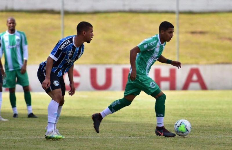 Juventude empata com o Grêmio pelo Campeonato Brasileiro de Aspirantes