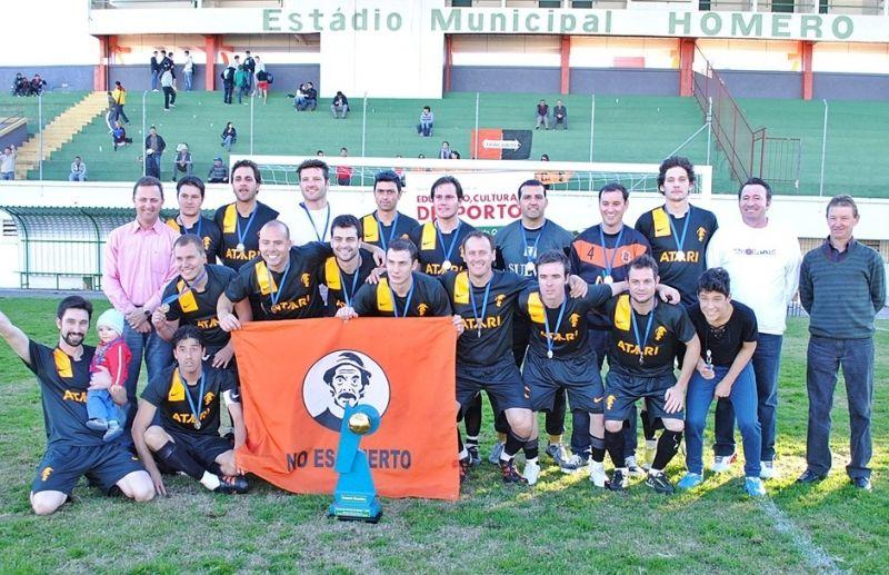 Prefeito e Vice conquistam o futebol 7 em Flores da Cunha