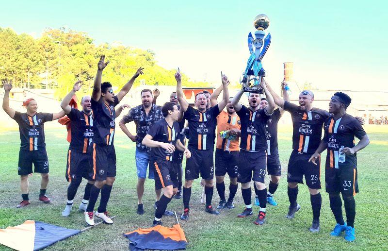 Alma Negra é campeã da Série Ouro do futebol 7 de Flores da Cunha