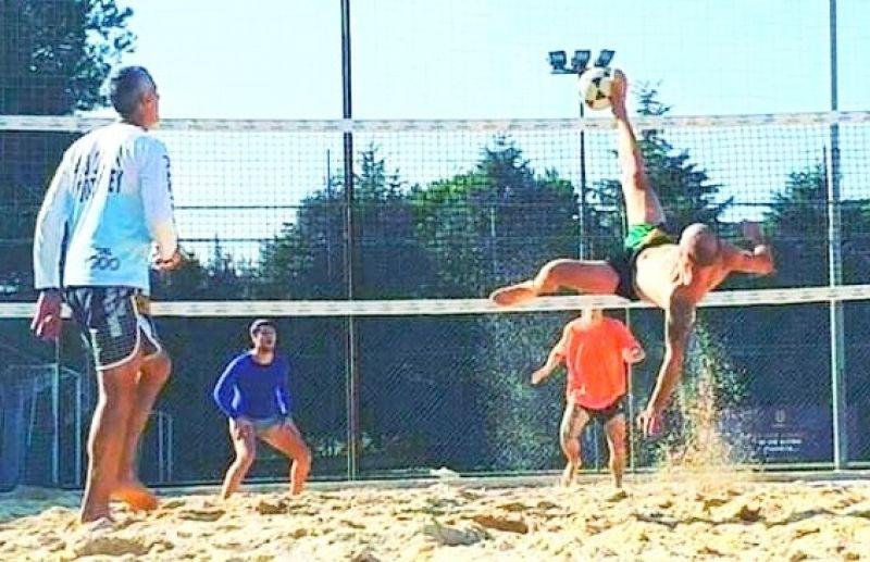 Atletas da Arena Beach Sports participam do Circuito Gaúcho de Futevôlei