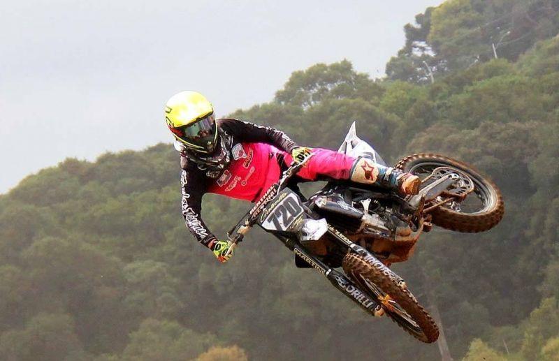Rodrigo Galiotto termina o Brasileiro de Motocross entre os 10 melhores do país
