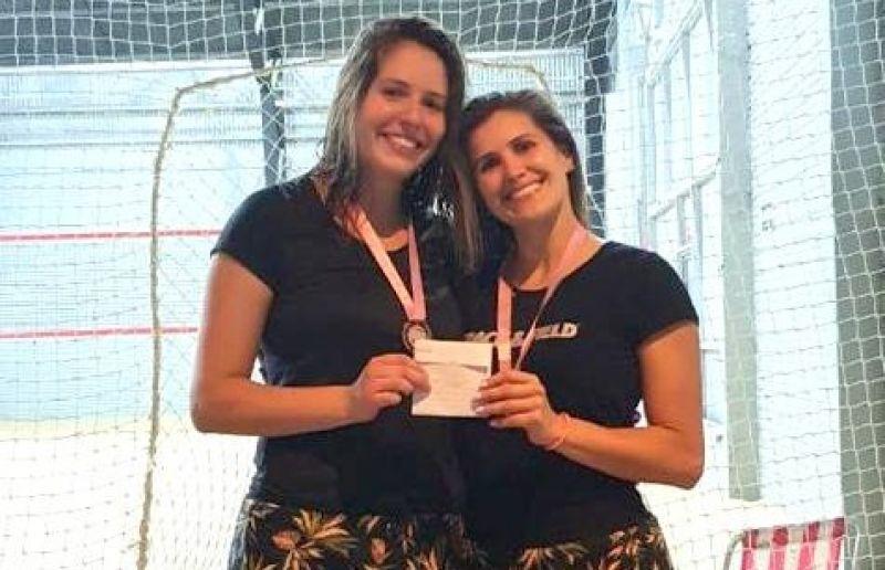 Aline e Kelen ficam com o 4º lugar em torneio de vôlei de praia
